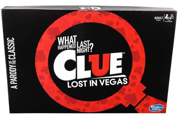 Cluedo édition Lendemain de Fête à Las Vegas